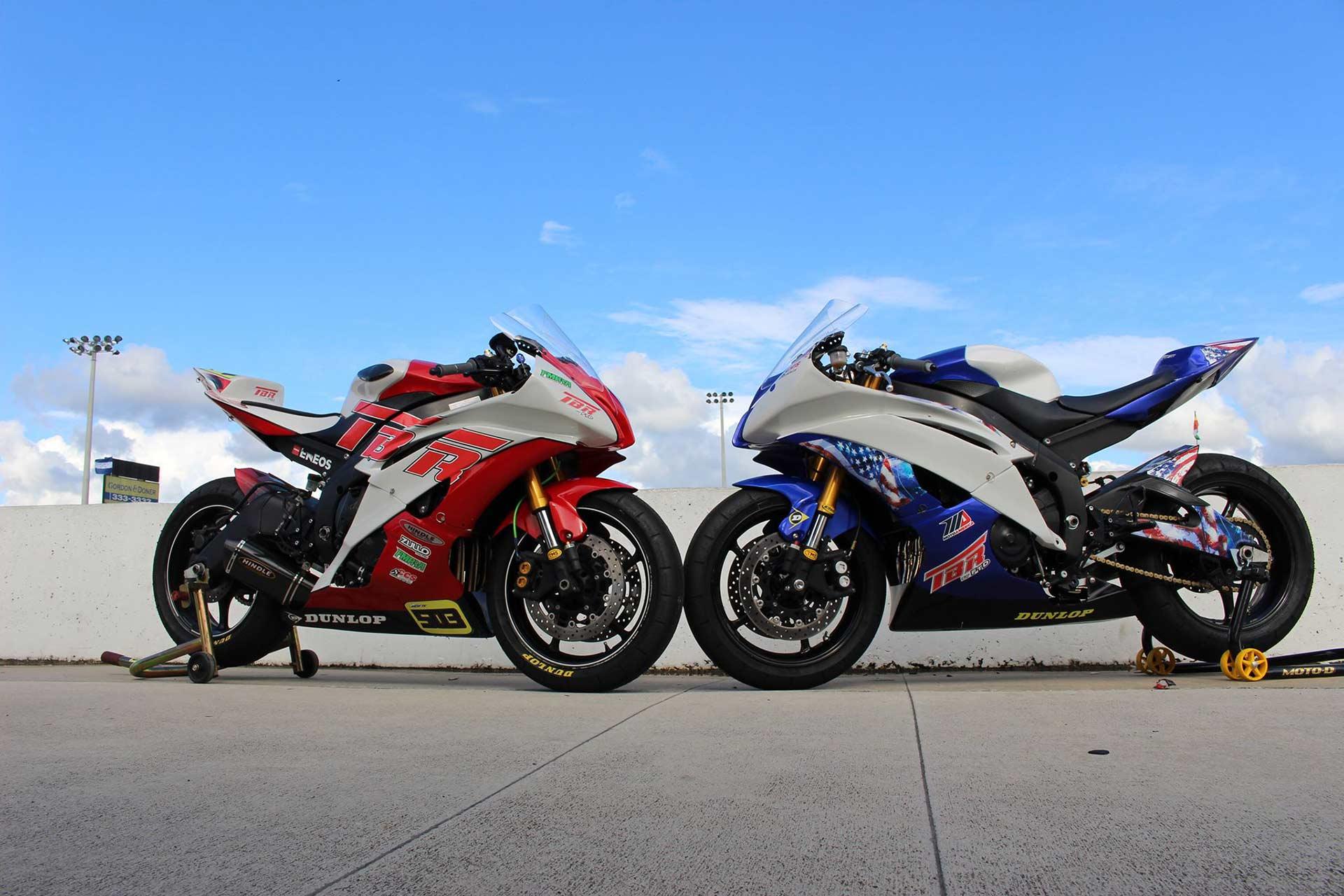 Track Bike Rentals Yamaha motorcycles